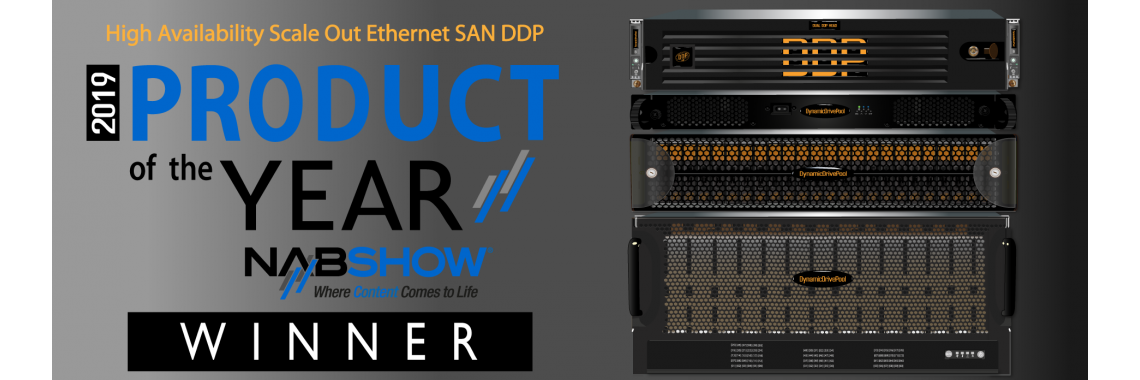 DDP Product of the Year NAB 2019